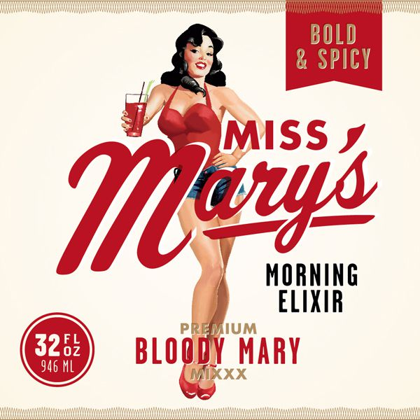 Miss Mary's<br/>Bold & Spicy Blood Mary Mix