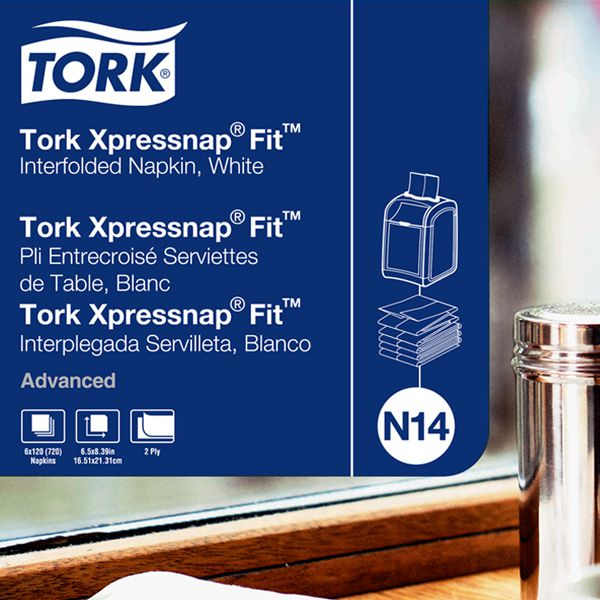 Essity<br/>TORK Advanced Xpress Napkin