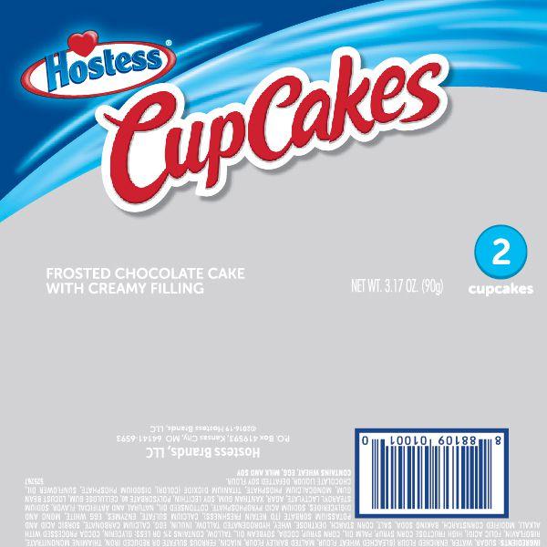 Hostess<br/>Cupcakes