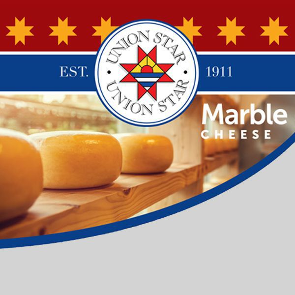 Union Star Cheese<br/>Marble Cheese